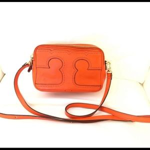 Tory Burch Amalie Triple Zip Crossbody Bag